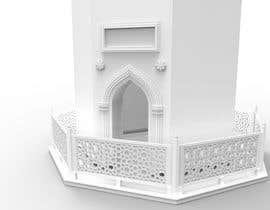 #7 for STL File for 3D Printing of the White Minaret by JulioEdi