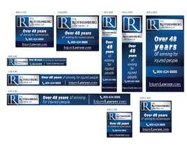 Nro 21 kilpailuun Multiple Banner Ads needed in a variety of sizes käyttäjältä svetlanadesign