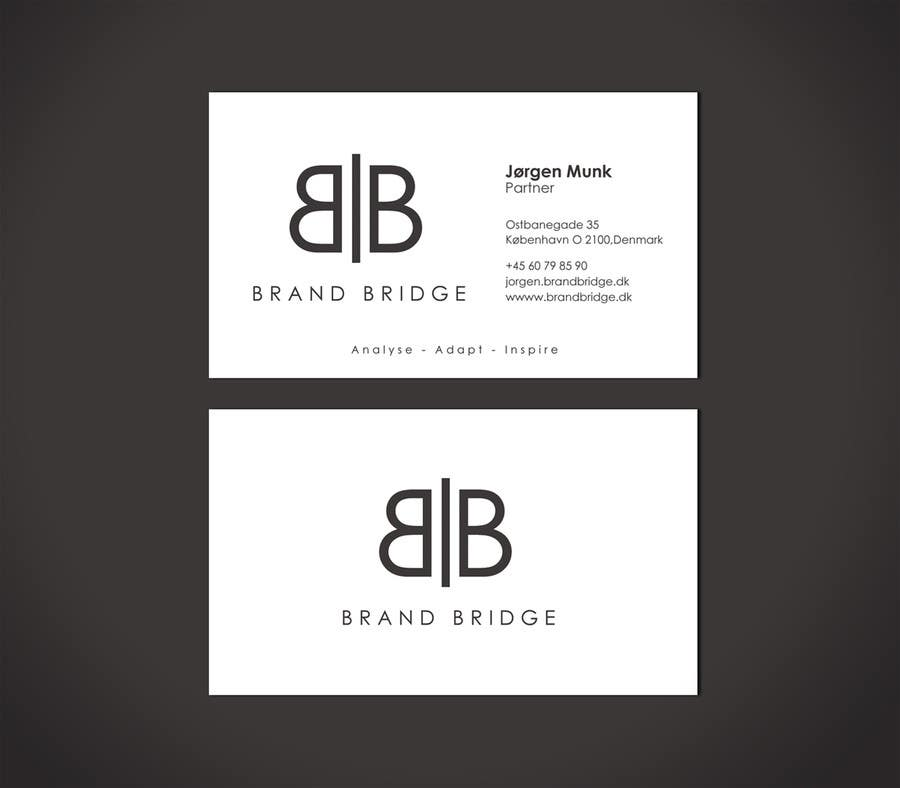 Entry 15 by flechero for design a logo and business cards for brand contest entry 15 for design a logo and business cards for brand bridge a sino colourmoves