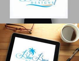 #26 para Logo design for Blue Buoy designs.  A coastal home decor & apparel store de fourtunedesign