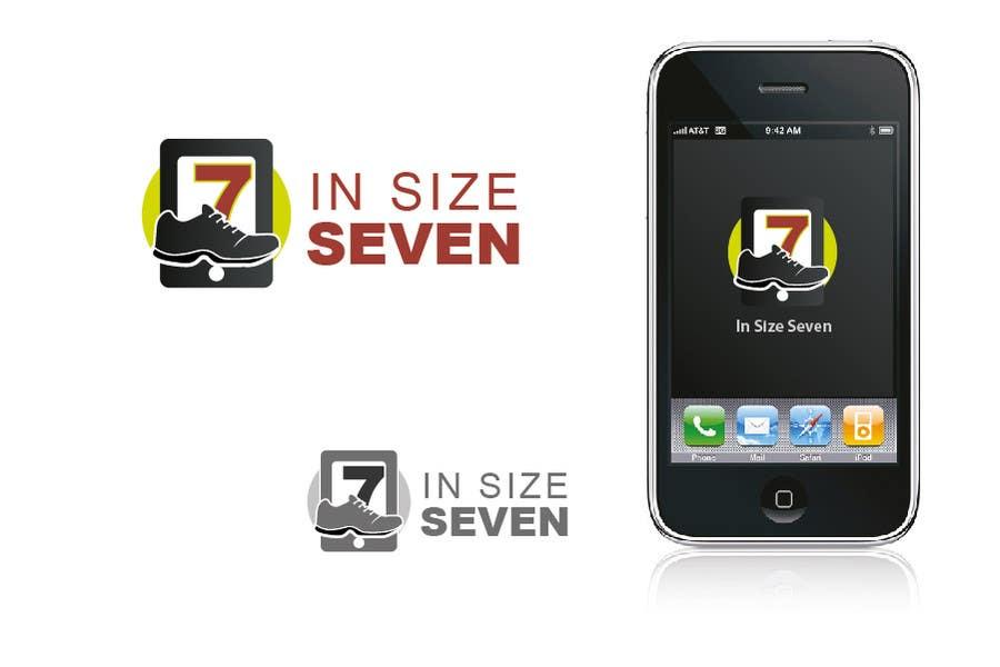 Inscrição nº 57 do Concurso para Logo Design for In Size Seven (shoes)