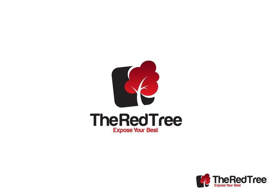 #947 for Logo Design for a new brand called The Red Tree by WabiSabi