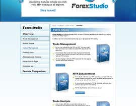 #29 para Website Design for Forex Studio product page por anjaliarun09