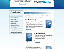 #32 para Website Design for Forex Studio product page por anjaliarun09
