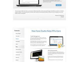 #19 para Website Design for Forex Studio product page por abatastudio