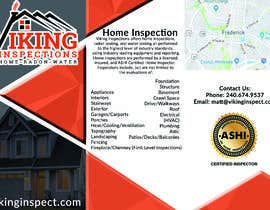 #5 for Brochure for Home Inspection company by anastasiayosi