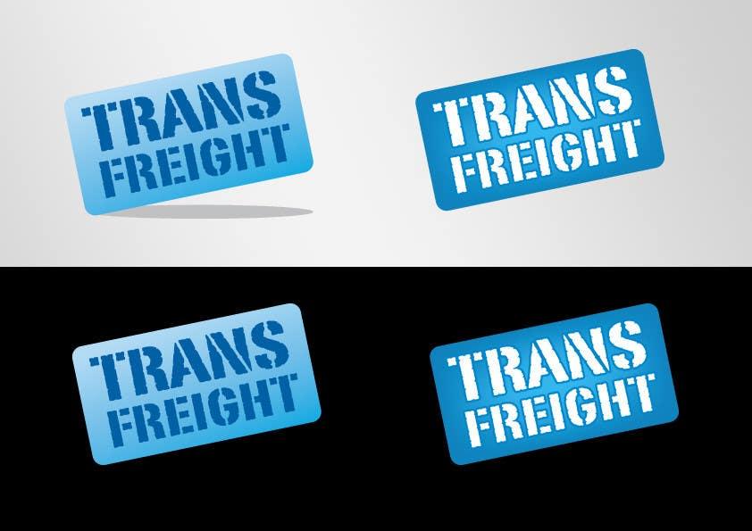Bài tham dự cuộc thi #53 cho Graphic Design for Transfreight
