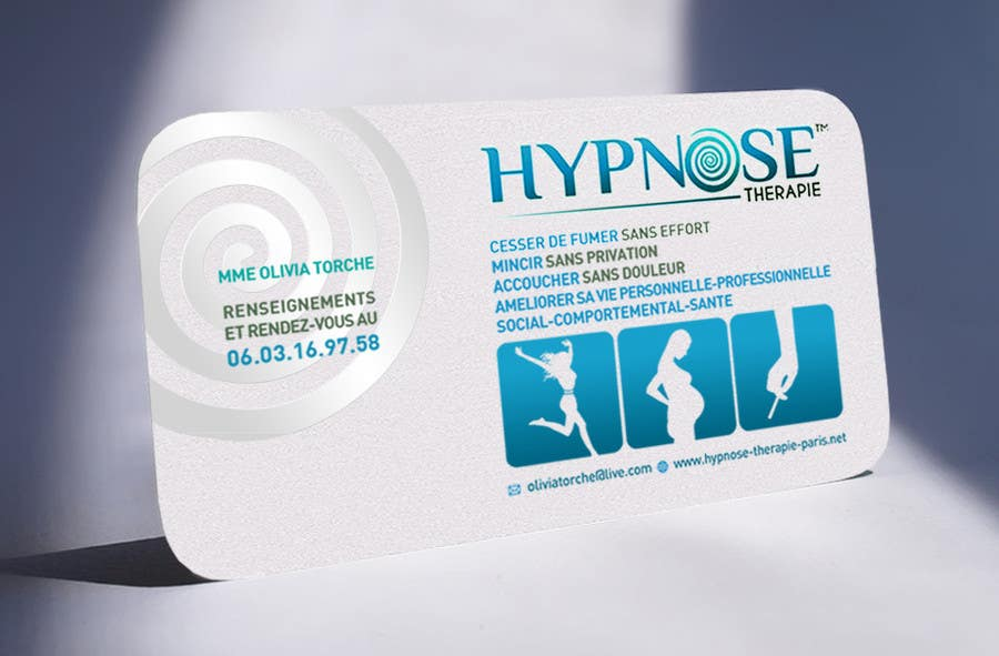Entry 122 By Julianikolaeva For Business Card Design For Hypnosis