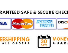 #9 for Design secure, shipping checkout images for shop page by devildesax