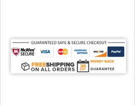 #6 for Design secure, shipping checkout images for shop page by Nandhini1999