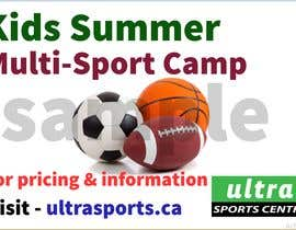#10 for Summer Camp Banner by masalampintu