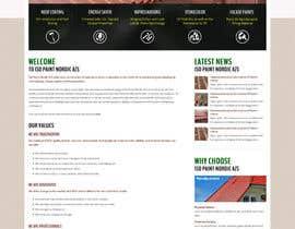 Nro 53 kilpailuun Design a website for a danish company käyttäjältä massoftware