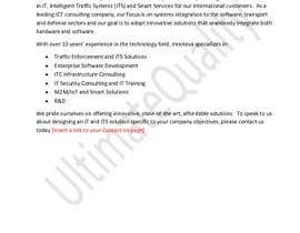 #10 for I.C.T Company's Profile Writing (Website Copy) by UltimateQuality