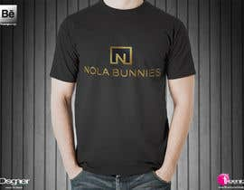 "Nambari 15 ya I need a Tee Shirt for ""Nola Bunnies"".  The shirt should be designed with adult females as the consumer! na RHossain1992"