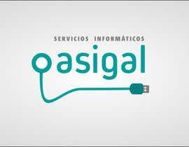 #6 para Design a logo for Asigal S.L. (informatic services) de klibre3d