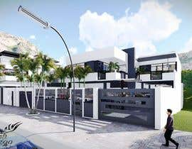 Nambari 13 ya I need a 3d rendered very high quality design for the exterior of my apartment building. na rachidasanz