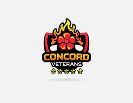 Nambari 16 ya Football (Soccer) Logo for a USA military veterans football team na oromansa