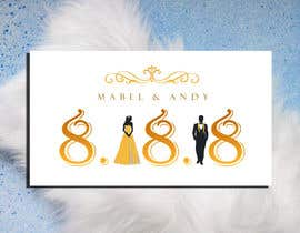 #31 for Design a Logo for a wedding invitation by zahra0501
