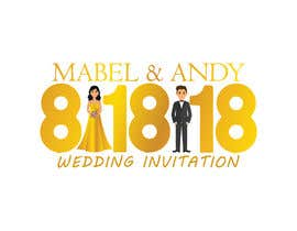 Nambari 27 ya Design a Logo for a wedding invitation na sananirob93