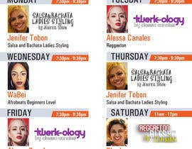 Nambari 8 ya Design a weekly schedule na Ashik0682