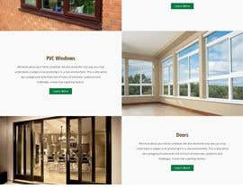 #23 for Build windows and doors company website by passiontech09