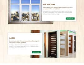 #11 for Build windows and doors company website by adixsoft
