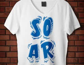 #95 for Unisex typography t-shirt design by milosn28