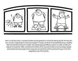 #6 for Storytellers wanted to create SIMPLE hand drawn storyboards related to violence and bullying by shahzeenahmed6