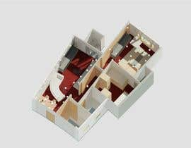#33 for Apartment Interior Layout and Design by benyamabay
