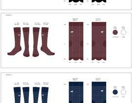 #7 for Design a Sock Mock up by tflbr