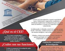 #6 for Crear un brochure informativo by anasser306