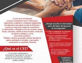 #9 for Crear un brochure informativo by anasser306