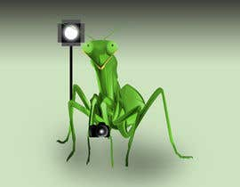#9 for I  need an artist to take this poor excuse of a image and create a version that looks like a praying mantis with camera and lights for a logo. I need a dng file and vector version by GunaAgung06