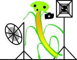 #1 for I  need an artist to take this poor excuse of a image and create a version that looks like a praying mantis with camera and lights for a logo. I need a dng file and vector version by ahashisam