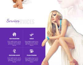 #26 for Design a Website Mockup / wordpress templete for Ladies Salon by csatya