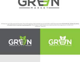 #48 for Green Market Logo by sixgraphix