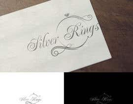 #127 for Design a Logo silver rings shop by davidtedeev