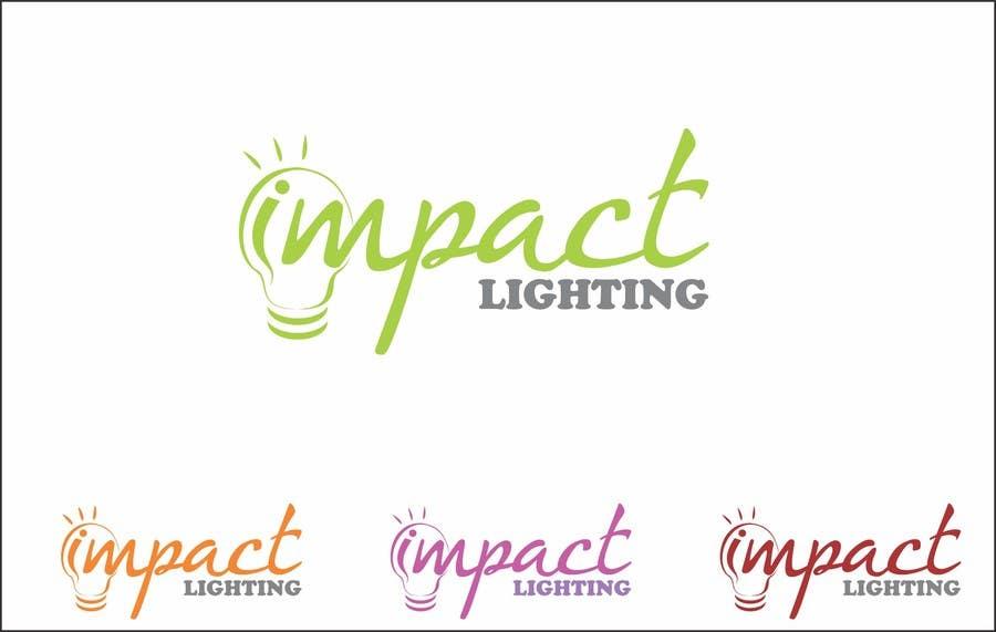 Bài tham dự cuộc thi #258 cho Logo Design for Impact Lighting