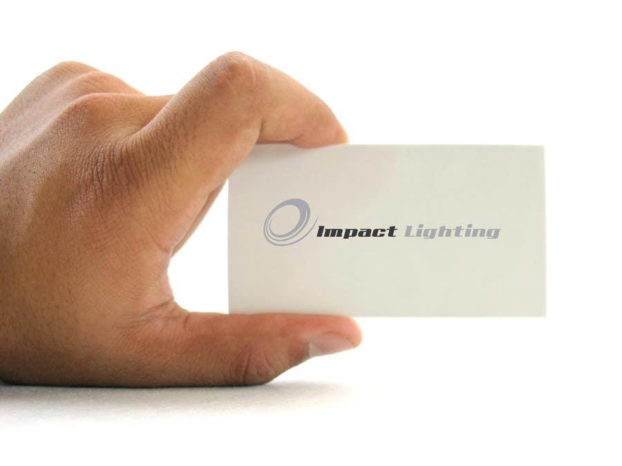 Inscrição nº 208 do Concurso para Logo Design for Impact Lighting