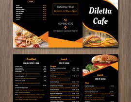 #4 for Tri-fold Brochure for cafe Open 6 days left by AtikRasel