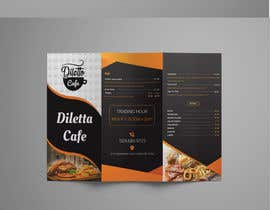 #5 for Tri-fold Brochure for cafe Open 6 days left by AtikRasel