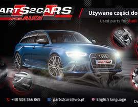 #38 for Nowy szablon ALLEGRO dla firmy parts2cars / części do AUDI by creative2pl