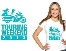 #30 para Logo Design for Touring Weekend 20xx por jtmarechal