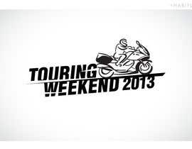 #110 para Logo Design for Touring Weekend 20xx por Habitus
