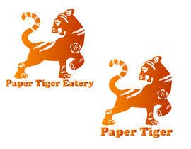 """#20 for Restaurant name """"Paper Tiger"""" Eatery by LevKseniia"""