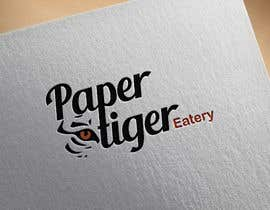 """#13 for Restaurant name """"Paper Tiger"""" Eatery by zinebboutlane92"""