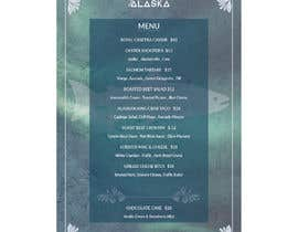 #84 for Bar Alaska Menu by svetlanadesign