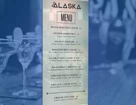 #91 for Bar Alaska Menu by deyali