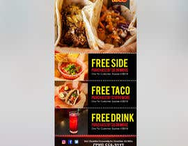 Nro 12 kilpailuun Design a mini Flyer coupon for my restaurant käyttäjältä lovely9