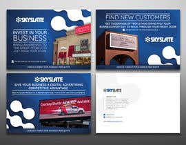nº 52 pour SkySlate Design a Small Business Postcard par elgu
